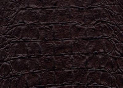 SOFT TOUCH Croco Dark-Brown lederen vloeren en lederen wanden
