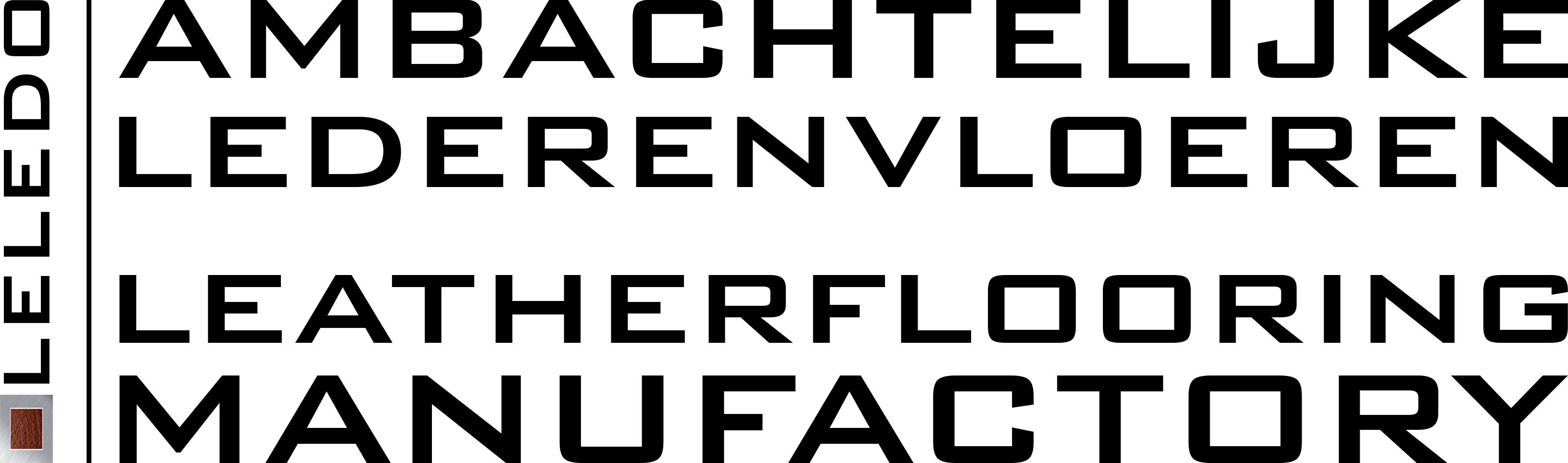 Leren vloer | Plancher / Revêtement mural en cuir