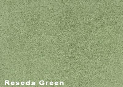 SUÈDE Reseda Green lederen vloeren en lederen wanden