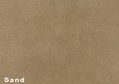 SUÈDE Sand lederen vloeren en lederen wanden