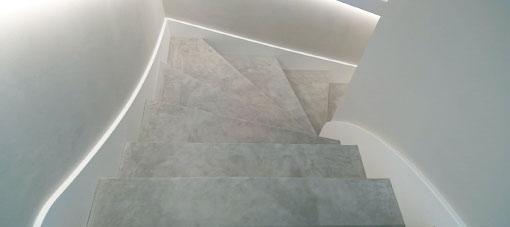 SUÈDE lederen trapbekleding